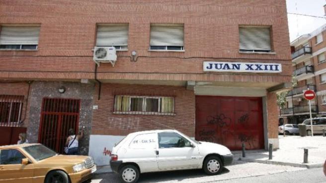 La residencia Juan XXIII, clausurada provisionalmente en junio.