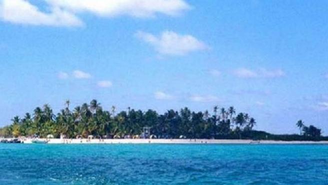 Cayo Jonnhy, uno de los pequeños islotes que componen el archipiélago de San Andrés, Providencia y Santa Catalina.
