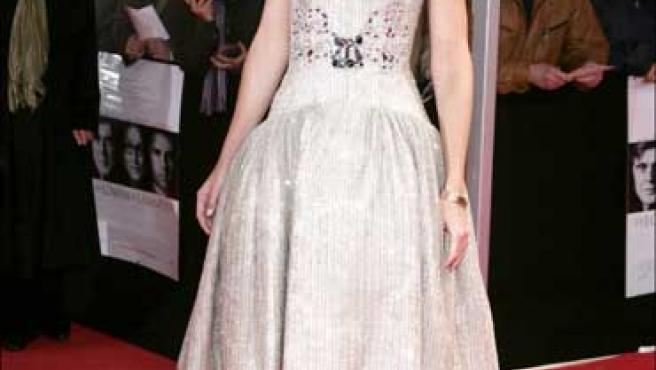 La actriz de 29 años, Katie Holmes.