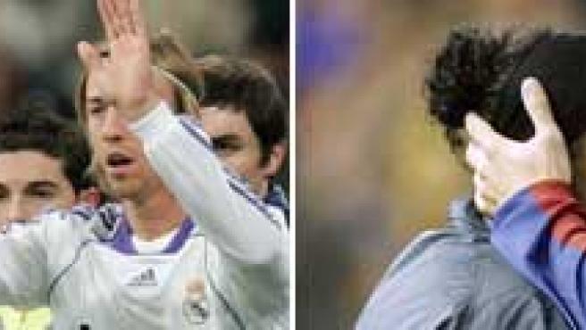 Guti y Ronaldinho atraviesan malos momentos en sus equipos.