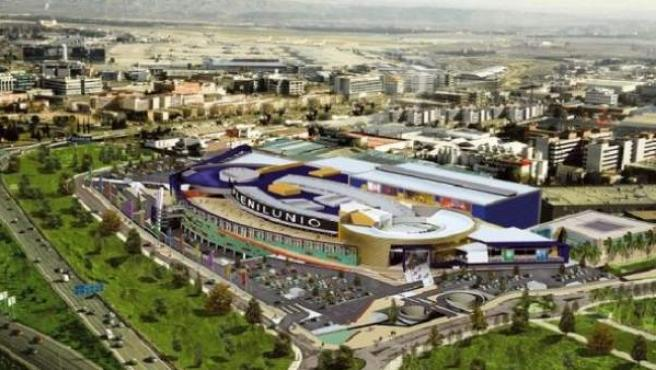 Una imagen del centro comercial Plenilunio.