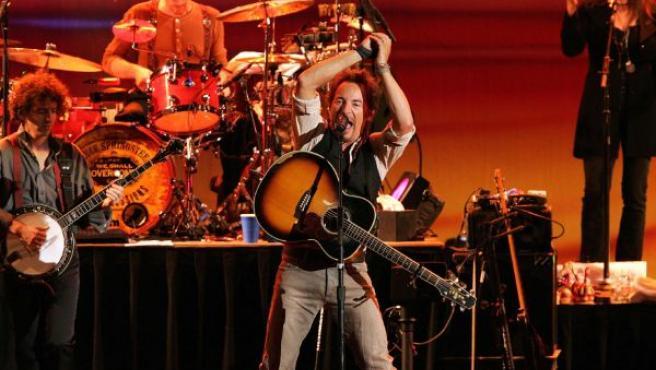 Bruce Springsteen durante un concierto en Granada en 2006.