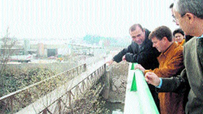 El antiguo puente de 1897, se preservará por su interés cultural.
