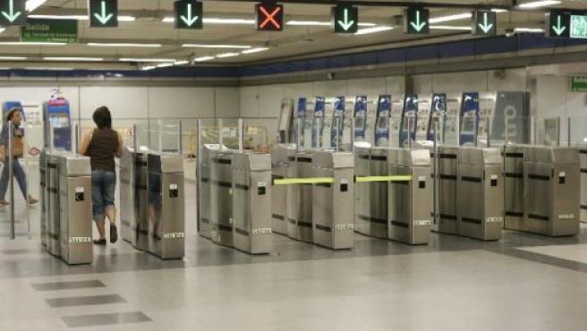 Imagen de archivo de la estación de metro de Callao.