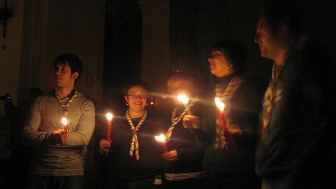 La Luz de la Paz 2007, de Barcelona a Burgos.