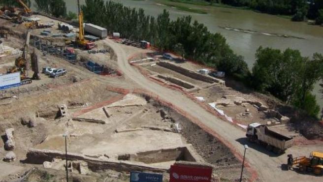 El Balcón de San Lázaro, que no estará listo para el comienzo de la muestra.