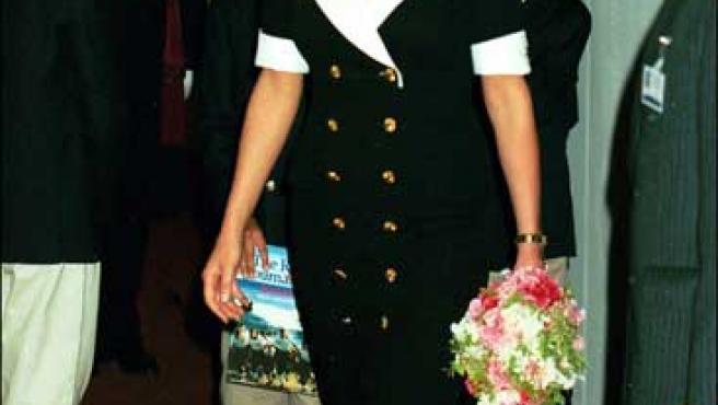 La princesa Diana de Gales en una imagen de archivo.