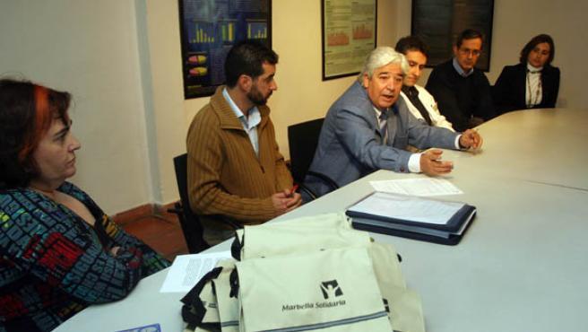 Expertos, médicos e implicados en la lucha contra el tabaco se reunieron ayer en la comunidad terapéutica Hacienda de Toros.
