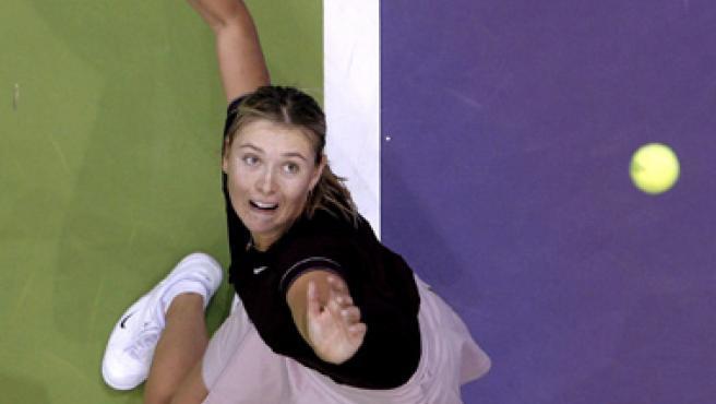 La tenista Maria Sharapova en una imagen de archivo. (BALLESTEROS / EFE)