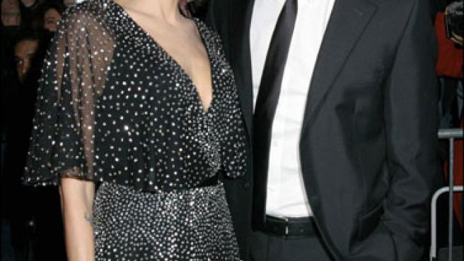 Brad Pitt y Angelina Jolie. (Korpa)