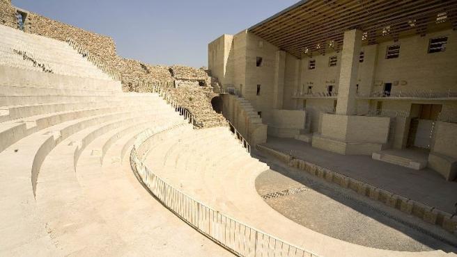 El Teatro Romano de Sagunto, en su actual estado.