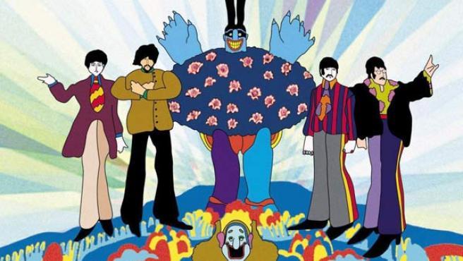 Imagen perteneciente al álbum 'Yellow Submarine'