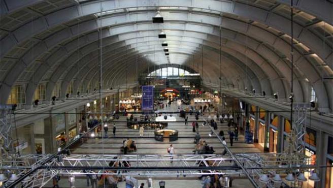 Los viajeros de la estación central de Estocolmo suministrarán la energía que necesita la calefacción del nuevo edificio.