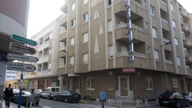 El hotel Cano está en el número 53 de la calle Zoa (EFE).