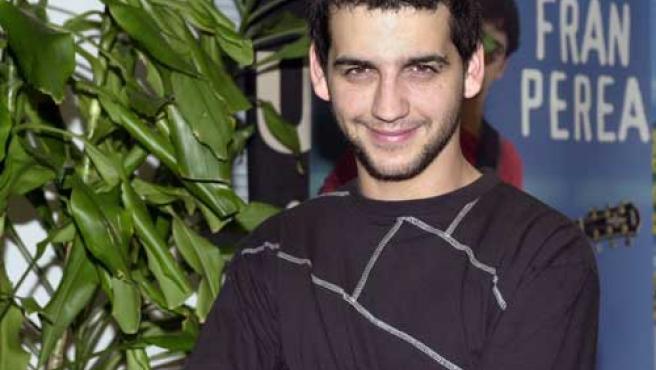 El actor y cantante Fran Perea.