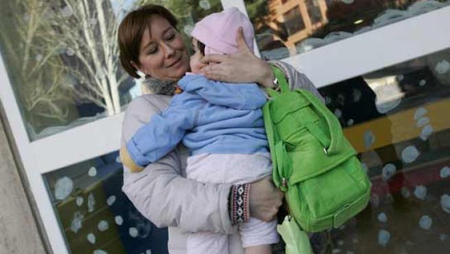 Maria Jesús Rodríguez y su hija Carmen (FOTO: JORGE PARÍS)