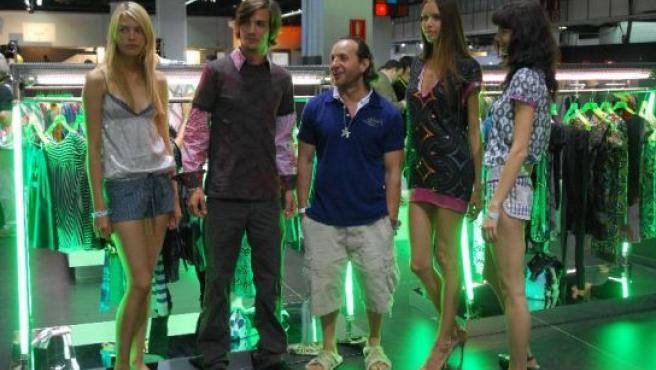 Custo Barcelona y varios modelos en la feria de moda urbana Bread&Butter.
