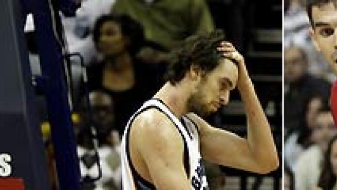 Navarro y Gasol, de los Grizzlies, y Calderón, de los Raptors, perdieron esta noche en la NBA.
