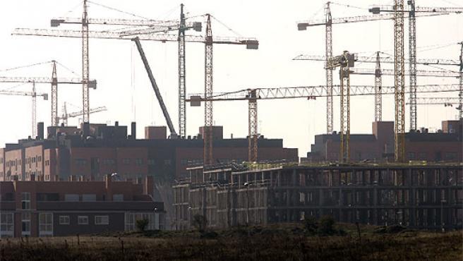 Las grúas a partir de este año se usarán menos a la hora de construir nuevos edificios.