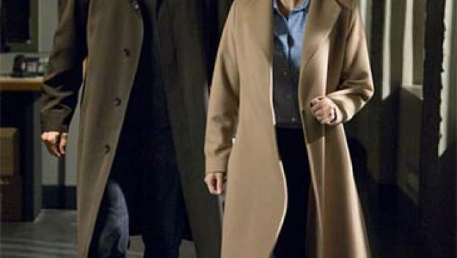 Mulder y Scully, seis años después del último episodio de la serie.