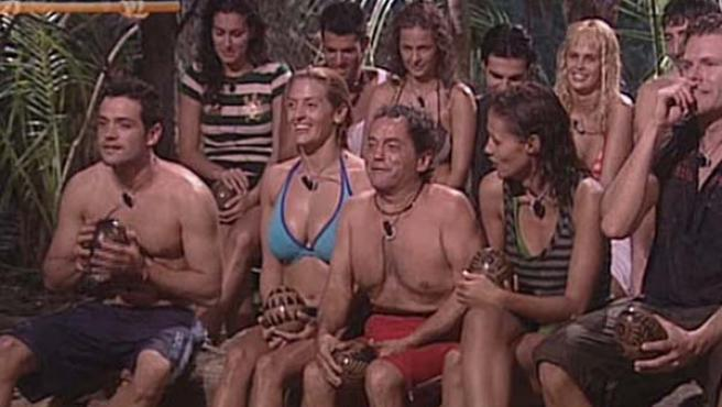 Los concursantes de 'Supervivientes 2008'. (FOTO: TELECINCO)