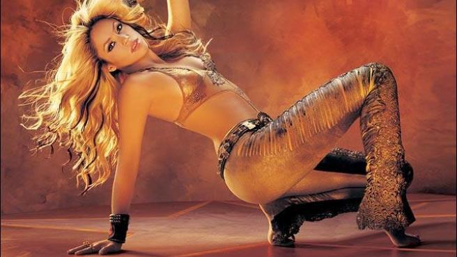 Shakira en una de las fotos promocionales.