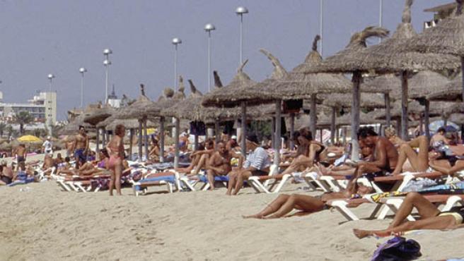 Las playas españolas parecen convencer a los turistas.