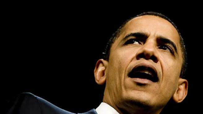 Barack Obama, en un acto de campaña. (Michal Czerwonka / EFE).
