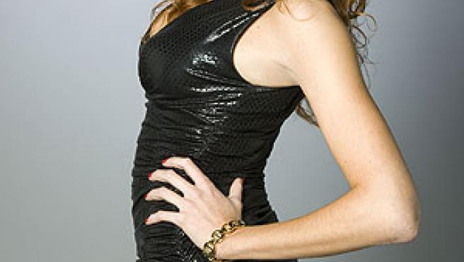 La actriz María Castro caracterizada como Jessica.