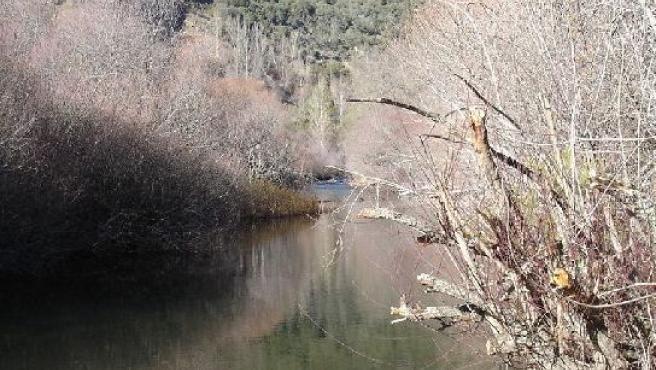 El Sorbe, en su curso alto, cerca del pueblo de Umbralejo.