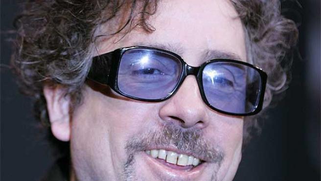 El director de cine estadounidense Tim Burton.