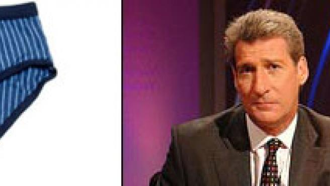 Jerry Paxman y unos calzoncillos. (THE TIMES y DAILY TELEGRAPH)