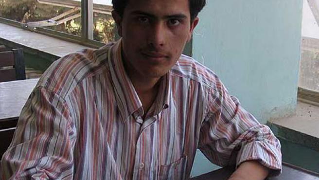 El periodista condenado, Syed Parvez.