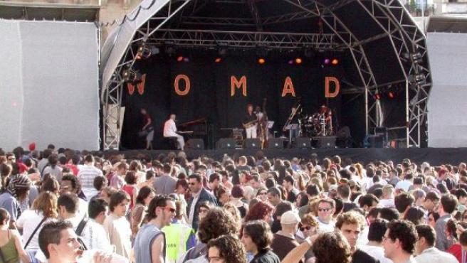 El Festival Womad de Cáceres de 2008.