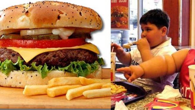 La obesidad infantil es un problema cada vez más grave en Europa.