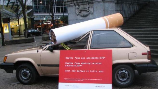 Campaña sobre los peligros del tabaco (AGENCIAS).
