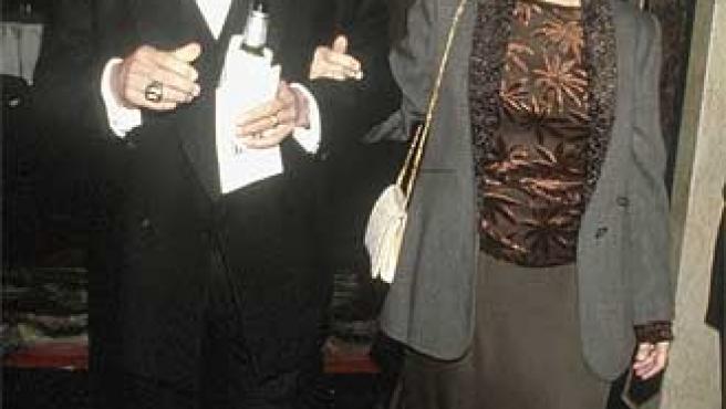 Paul Newman y Johanne Woodward ©KORPA