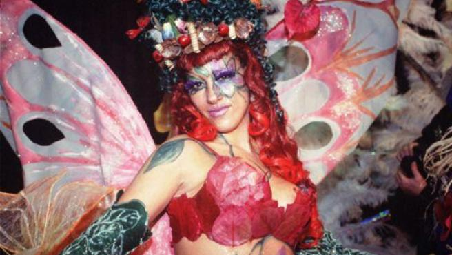 Imagen característica de las fiestas del Carnaval.