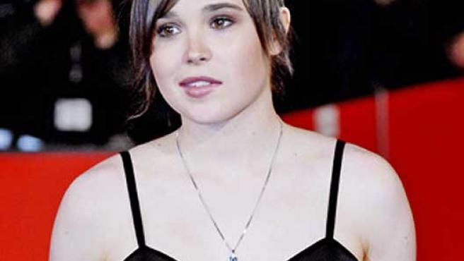 La actriz Ellen Page, protagonista de 'Juno'.