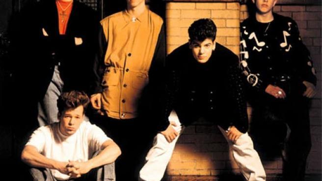 Los miembros de New Kids On The Block, en una foto de Archivo.