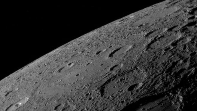 Imagen de Mercurio tomada por la sonda Messenger. (FOTO:NASA)