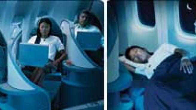 Imágenes promocionales de la aerolínea Air Canada.