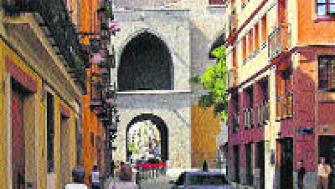 La calle Quart se quedará sin aparcamiento, como muestra esta simulación.