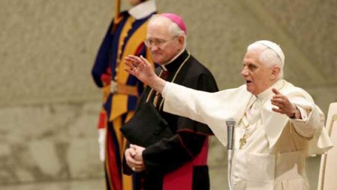 El papa Benedicto XVI. (Danilo Schiavella / EFE).