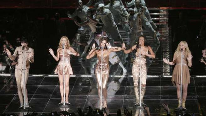 Las Spice Girls, en Madrid. (ARCHIVO).