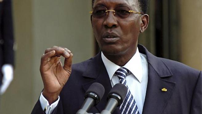 Foto de archivo del presidente chadiano, Idriss Deby.