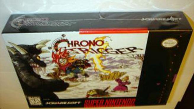 Chrono Trigger precintado.