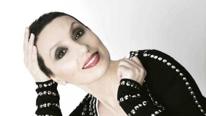La cantante española Luz Casal.