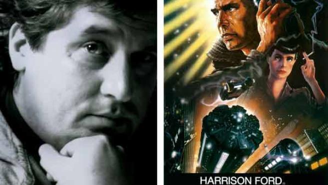 'Blade Runner' uno de los carteles míticos que diseñó John Alvin.