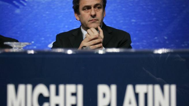 Platini, presidente de la UEFA, en una foto de archivo (Reuters).